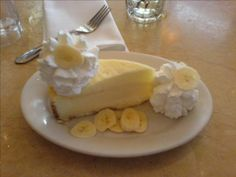 Cheesecake Factory(tm) Banana Cream Cheesecake : The Restaurant Recipe Blog