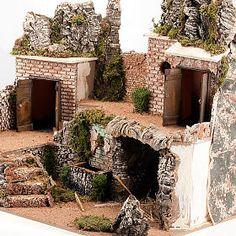 Christmas Villages, Christmas Nativity, Miniature Houses, Firewood, Christmas Decorations, Miniatures, Xmas, Crafts, Diy