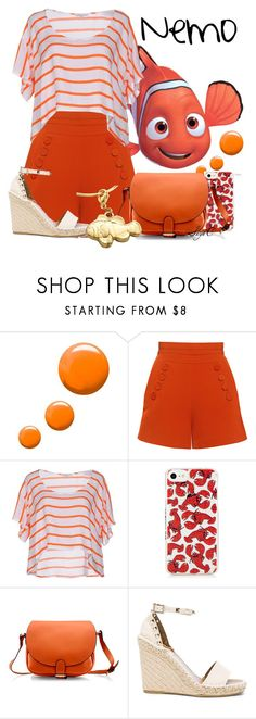 """""""Nemo - Summer - Disney Pixar's Finding Nemo"""" by rubytyra ❤ liked on Polyvore featuring Topshop, Finders Keepers, Rebecca Minkoff, Gearonic and Valentino"""