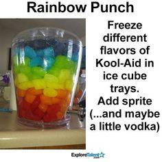 Rainbow Punch for 1st Birthday!