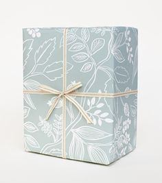 Rifle Paper Co. Spearmint Blossoms Wrapping Sheet