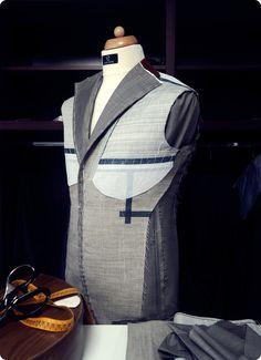 full canvas / bespoke  #bespoke #fullcanvas #handmade #bespoketailoring #menswear #sartorial #mnswr #menwithclass #suits #design #ZAVATE Bespoke Tailoring, Ready To Wear, Menswear, Victoria, Costumes, Suits, Canvas, How To Wear, Handmade