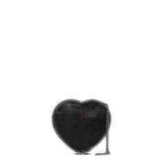 c1089100108 Black Falabella alter snake heart cross body bag - STELLA MCCARTNEY Bago