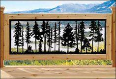 Balcony panels for indoor / outdoor - Rockler Woodworking Tools diy for beginners plans tips tools Essential Woodworking Tools, Antique Woodworking Tools, Unique Woodworking, Rockler Woodworking, Woodworking Logo, Woodworking Techniques, Deck Railing Design, Deck Railings, Gate Design
