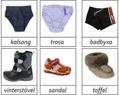 Paper Doll House, Paper Dolls, Learn Swedish, Swedish Language, Maila, Autism Spectrum, Clothes Crafts, Speech And Language, Montessori