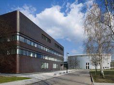 Rostlaube für die Informatik - Neubau auf dem Campus der BTU Cottbus