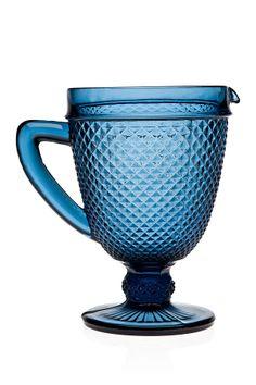 Belmont Pitcher - Blue