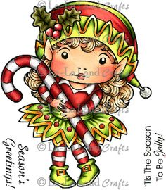 elf digi stamp | Our Products >> Christmas Elf Marci Digi Stamp