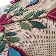 Quilt Market prep is in full swing! Here's a little sneak peek from @leoniebatemandesigns  can't wait to see the finished product  #pennyrosefabrics #ilovepennyrose #fabricisMYfun #wovenwool #woolapplique #quilt #quilting #quiltmarket