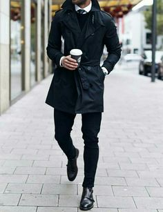 Mens Fashion and Style - Trench coat - yes or no? #mens #menswear #fashion #mensfashion #style