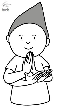 Buch Kindergebärden Babyzeichen Babyzeichensprache Babygebärden Gebärdensprache