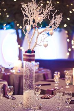 Colorful DIY Wedding Centerpiece