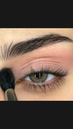 Smoke Eye Makeup, Cute Eye Makeup, Makeup Geek Eyeshadow, Wedding Eye Makeup, Asian Eye Makeup, Eye Makeup Steps, Hooded Eye Makeup, No Eyeliner Makeup, Glitter Makeup