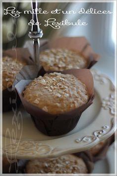 les milles & un délices de ~lexibule~: ~Muffins au sirop d'érable~ Granola Barre, Muffin Recipes, Scones, Biscuits, Food And Drink, Cooking Recipes, Cupcakes, Sugar, Breakfast