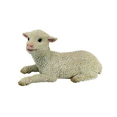 Design Toscano Aries Sitting Lamb Statue ** Click on the image for additional details.