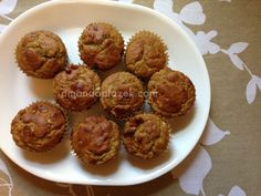 INCREDIBLE gluten-free banana nut muffins- you gotta try these!