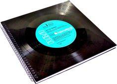 Gästebücher -  Gästebuch Elvis Presley Schallplatte Vinyl LP  - ein Designerstück von Aurum bei DaWanda