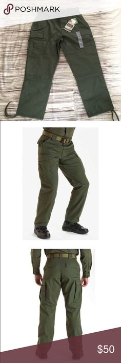 3f7dd70c3f870 5.11 Tactical Series Duty Uniform Cargo Pants Brand New 5.11 Tactical Series  Ripstop TDU Pants in