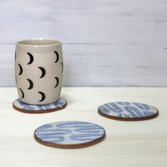 Image of Ceramic Coaster Set