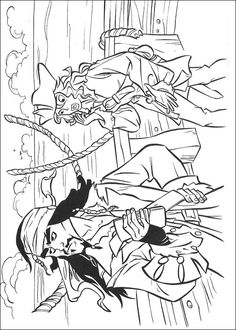coloring page Pirates of the Caribbean on Kids-n-Fun. Coloring pages of Pirates of the Caribbean on Kids-n-Fun. More than coloring pages. At Kids-n-Fun you will always find the nicest coloring pages first! Pirate Coloring Pages, Cool Coloring Pages, Disney Coloring Pages, Coloring Pages For Kids, Adult Coloring, Kids Coloring, Davy Jones, Pirates Of The Caribbean, Wallpaper