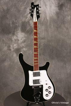 """1975 Rickenbacker 481 """"Slant Fret"""""""
