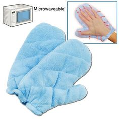 MICROWAVABLE BUCKWHEAT THERAPY GLOVES | Better Senior Living