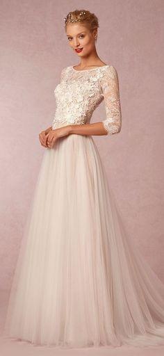 Vintage Wedding Dresses; BHLDN
