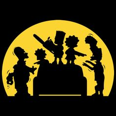 Judging from the scene on the Simpsons Doh! T-Shirt, it looks like Homer and Marge spent a little too much time sitting on the couch watching Simpsons Shirt, The Simpsons, Simpsons Tattoo, Simpson Tv, Zombie News, Futurama, Simpson Wallpaper Iphone, Zombie T Shirt, Illustration Art