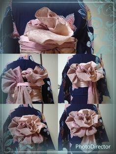 「how tie fancy obi knots」の画像検索結果 Yukata Kimono, Kimono Dress, Diy Dress, Japanese Costume, Japanese Kimono, Japanese Girl, Kimono Fashion, Lolita Fashion, Wedding Kimono