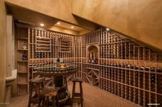 This Custom Wine Room with its own cork floor, is only one feature on todays Lavish pAdZ house of the day. Price Tag for the Scottsdale Mansion $3.750,000