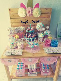 Mesa dulce Unicornio🦄