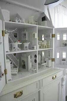 Cute built in foll house