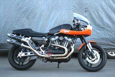 Custom XR1200 HD Cafe Racer
