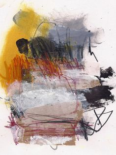 Abstract Paintings by Marie Bortolotto