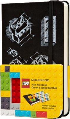Moleskine LEGO Limited Edition Hard Pocket Plain Notebook (2014)