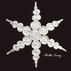 Snowflake # 17 ~ free pattern ᛡ
