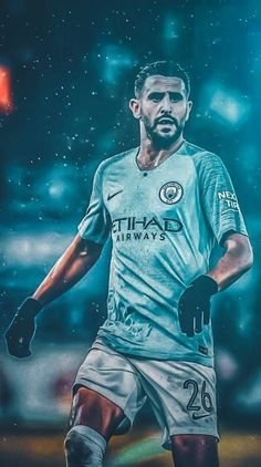 Search free mahrez Ringtones and Wallpapers on Zedge and personalize your phone to suit you. Start your search now and free your phone Ronaldo Football, Football Art, World Football, Sport Football, Funny Soccer Videos, Soccer Gifs, Soccer Stars, Sports Stars, Good Soccer Players