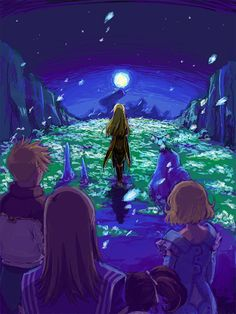 Tear Grant in Tales of the Abyss. By えの*; One of my favorite scenes