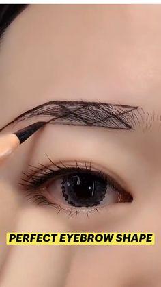 Eyebrow Makeup Tips, Makeup Eye Looks, Eye Makeup Art, Beauty Makeup Tips, Skin Makeup, Eyeshadow Makeup, Eyeshadow Tips, Beautiful Eye Makeup, Makeup Guide