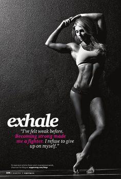 Exhale...