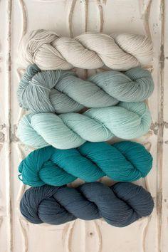 Barn Owl, Brook Trout, Cuckoo Flower, Boreal Bluet, Night Heron Yarn for Garden House Baby Blanket