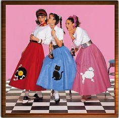 moda anni 50 un pochino esasperata