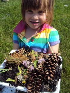 Go on a treasure hunt for mud pie ingredients .  Love this!