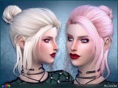 Sims 4 CC's - The Best: Anto - Blossom (Hair)