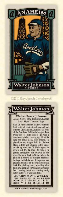 i love baseball. i love cards. and i love this infinite baseball card set by gary cieradkowski. dying to be made into a #SM...