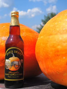 There's a new pumpkin cider this year! From Warwick Valley Winery in SE NY state.