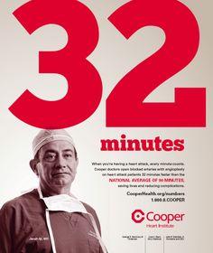Cooper 32 Minutes Print ad