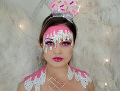 Ice-cream Halloween Makeup by The Beauty Stylist @thebeautystylistau on Instagram ♡ inspired by madeyewlook by Lex