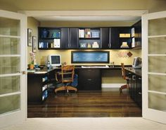70+ Contemporary Home Office Inspirations