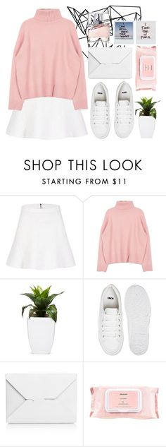 """老粉红色"" by lazyandboringgirl ❤ liked on Polyvore featuring Color Me, ASOS, J.W. Anderson, Mamonde, HUGO, women's clothing, women, female, woman and misses"